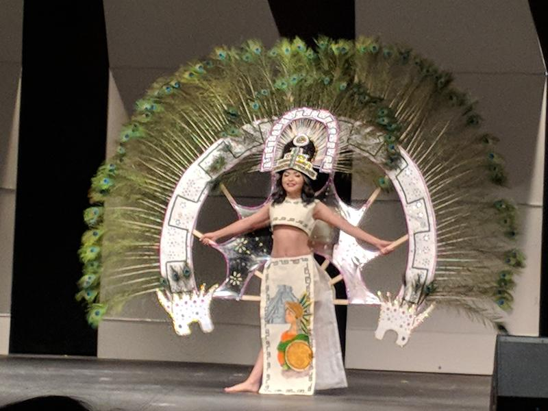 Culture Costume at the Cinco de Mayo Pageant in Liberal, Kansas
