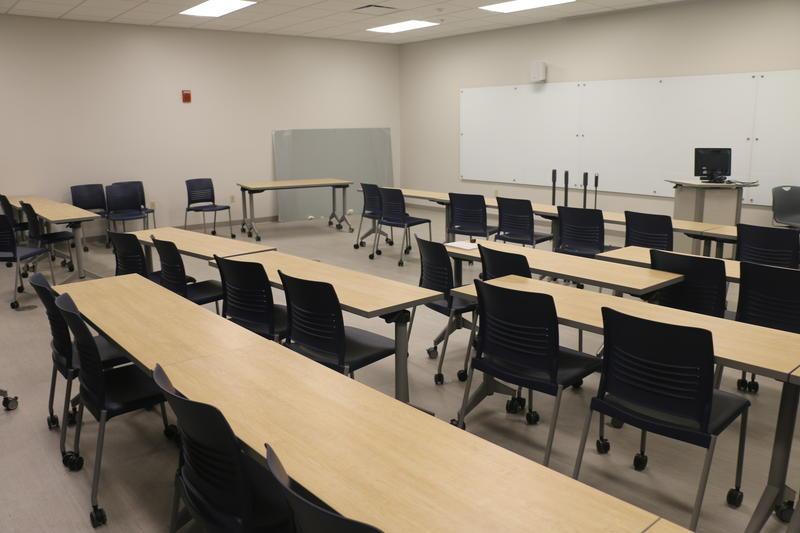 A UE classroom.