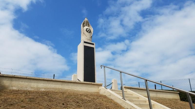 The First Division monument at Wadelincourt