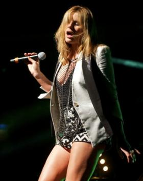 Grace Potter and the Nocturnals perform on the Riverbend Stage