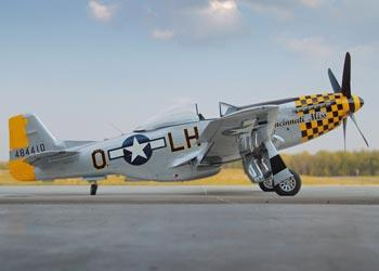 "P51D Mustang ""Cincinnati Miss\"" at the Tri-State Warbird Museum."