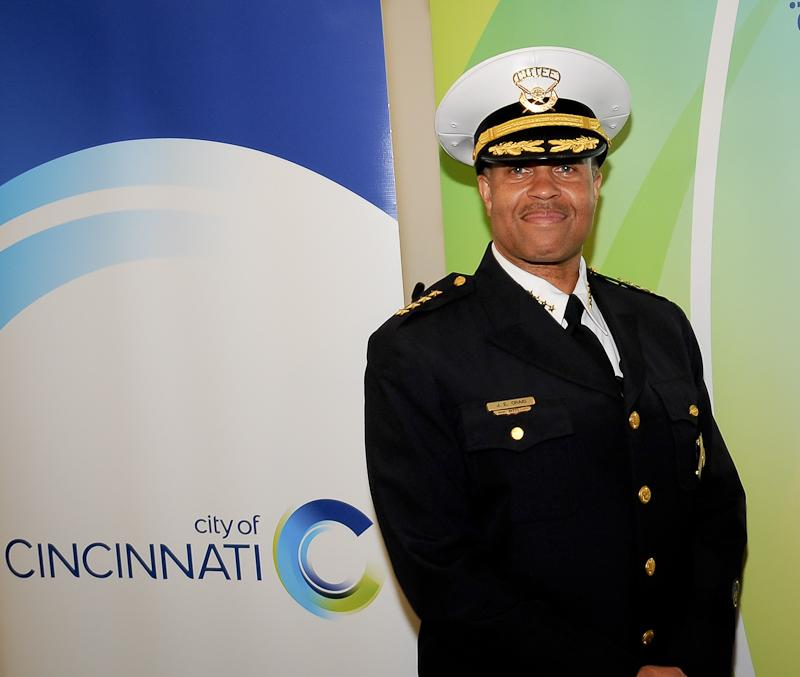 Cincinnati Police Chief James Craig