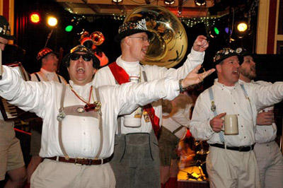 The Bier Band is a staple at Bockfest