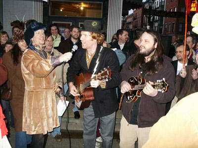 Jake Speed & Justin Todhunter perform the offical Bockfest song.