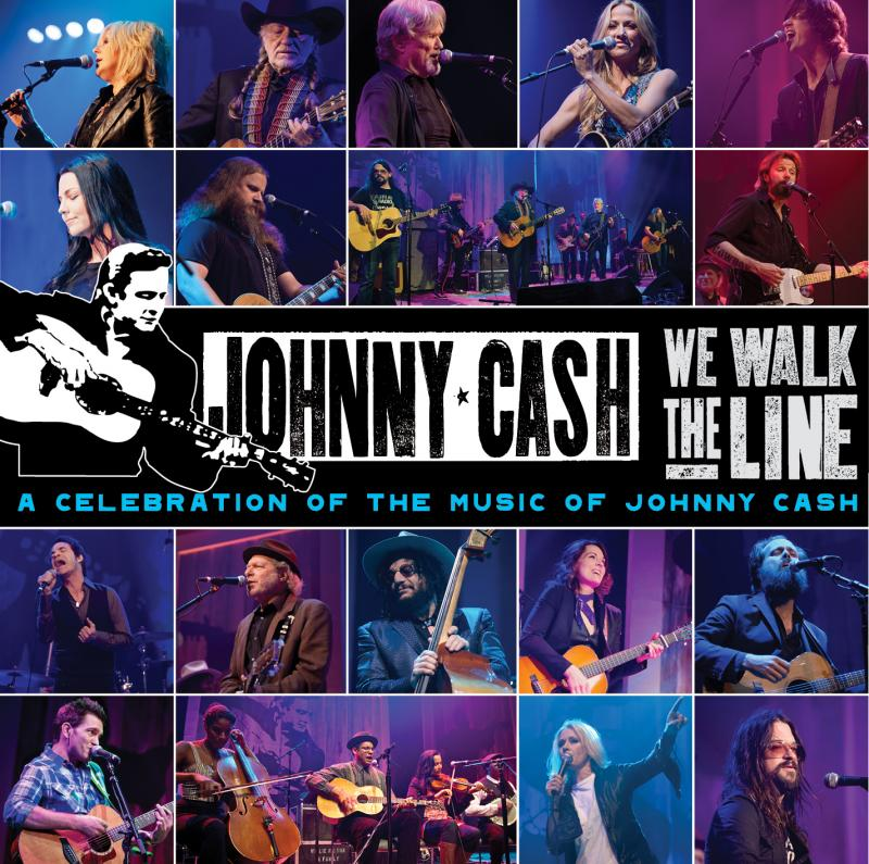 We Walk the Line: A Celebration of the Music of Johnny Cash - Get the CD for a gift of $120 or both the CD & DVD for a gift of $150.