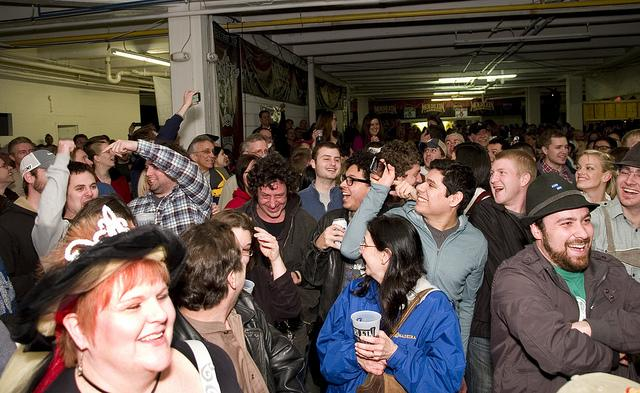 Revelry in Bockfest Hall