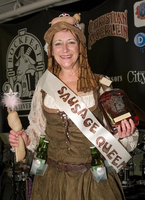2012 Reigning Sausage Queen Mary