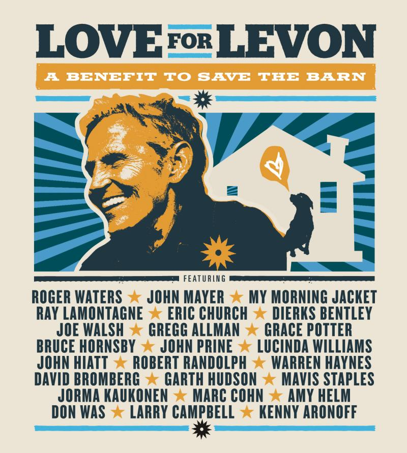 "Receive the concert DVDs & CDs, ""Love for Levon"", for a pledge of $240.  Take home the 2-CD soundtrack for a pledge of just $150"