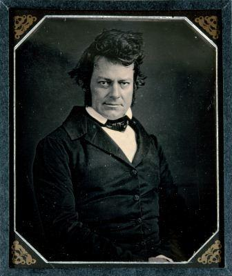 Unidentified artist, Edwin Forrest, 1848, half-plate daguerreotype. Cincinnati Art Museum, Gift of Mrs. James M. Landy in memory of James M. Landy, 1899.32