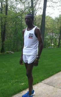 Kenyan runner Paul Odipo