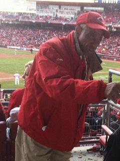 ushering 44 years for Cincinnati Reds, Charles Keith