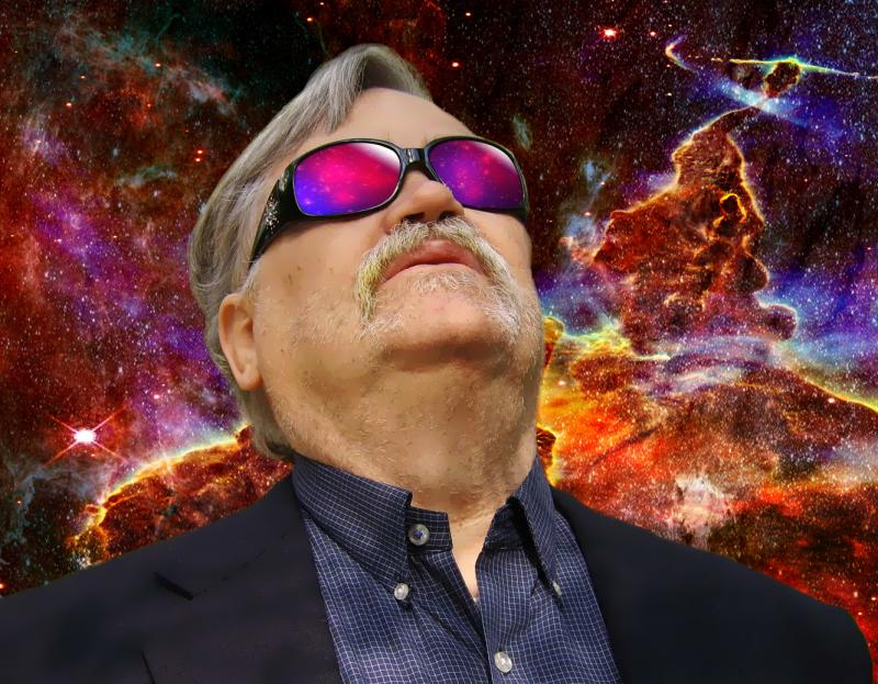 Col. Bruce Hampton in Space