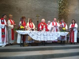 Liturgy at Dr Meyers ordination