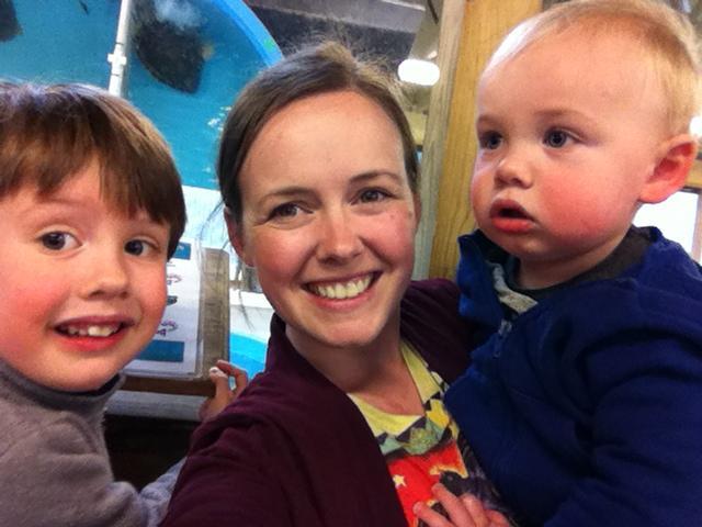 Tara Ford and her children