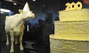 Butter Sculptures from 2012 Ohio State Fair