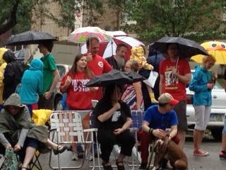 Northside 4th of July Parade spectators