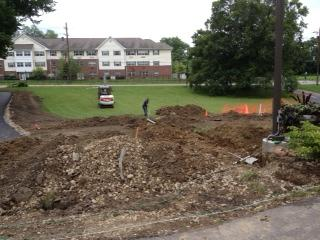 Workers prepare Gabriel's Place for makeover