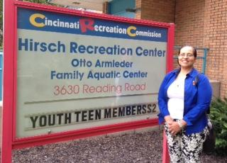 Karen Williams, service area coordinator for Hirsch Rec Center