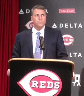 Reds manager Bryan Price