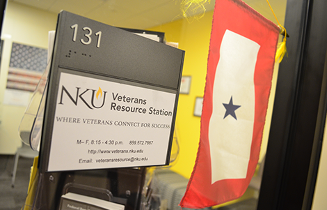 NKU's Veteran's Resource Station