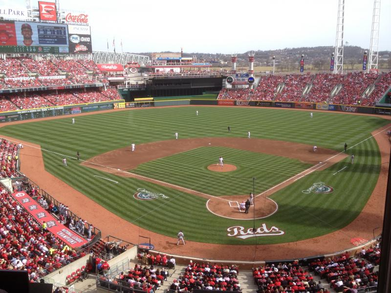 Great American Ball Park , Opening Day 2014