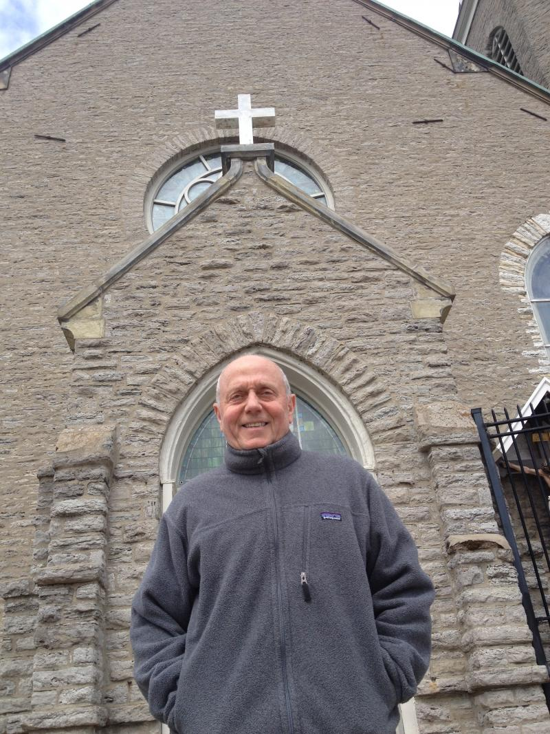 Jim Steiner, author of Immaculata on Mt Adams