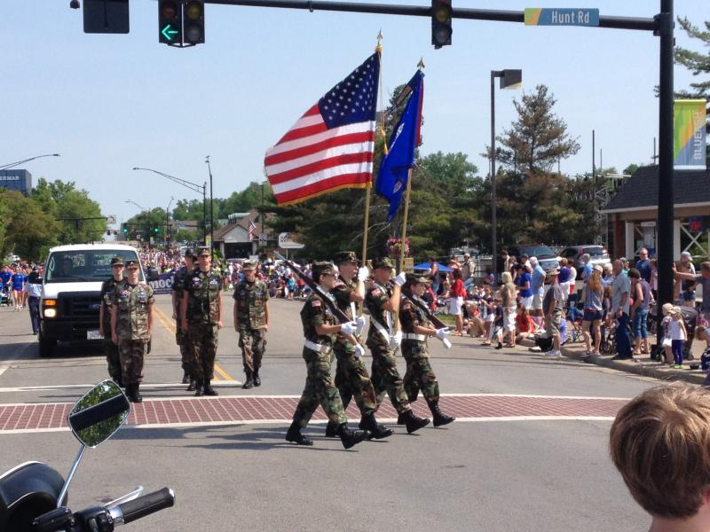 The 62nd annual Blue Ash, Ohio memorial Day parade