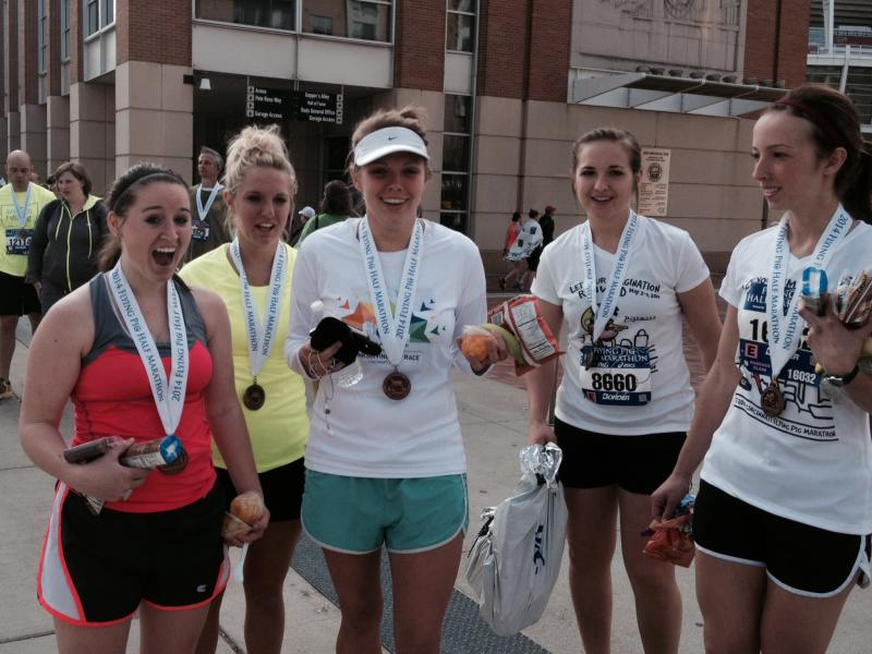 Cousins,sisters and friends run half marathon for the first time..bucket list