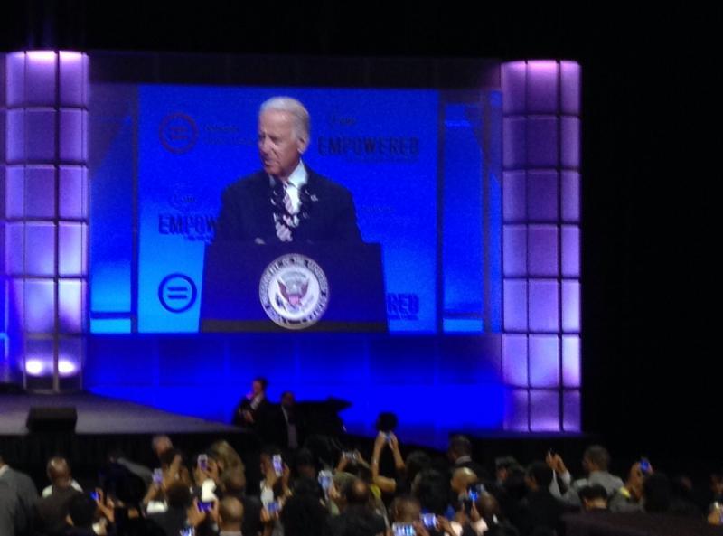 V.P Biden at Nationl Urban League Convention