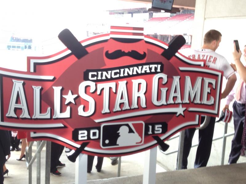 2015 All-Star Game logo unveiled at Great American Ball Park