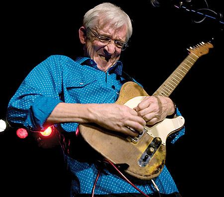 "The ""Titan of the Telecaster"", Bill Kirchen."