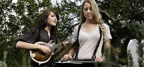 Rebecca and Megan Lovell of Larkin Poe. Provided photo