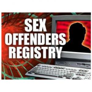 State police registered sex offenders