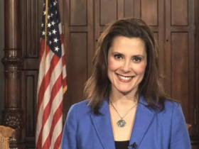 Senate Democratic Leader Gretchen Whitmer