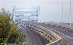 The Leo Frigo Memorial Bridge in Green Bay.