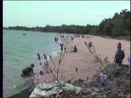 South Beach in Marquette, which has struggled with closures due to E. coli contamination.