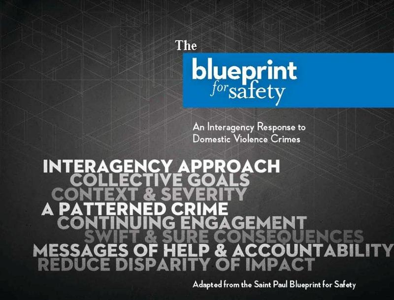 Blueprint for safety creates multi agency response to domestic blueprint for safety creates multi agency response to domestic violence malvernweather Choice Image