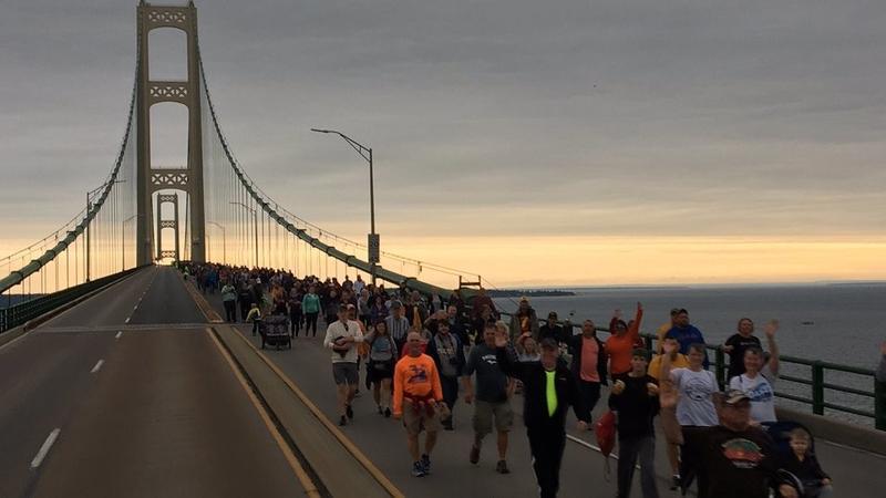 big mac bridge walk still on labor day more details to come wnmu fm