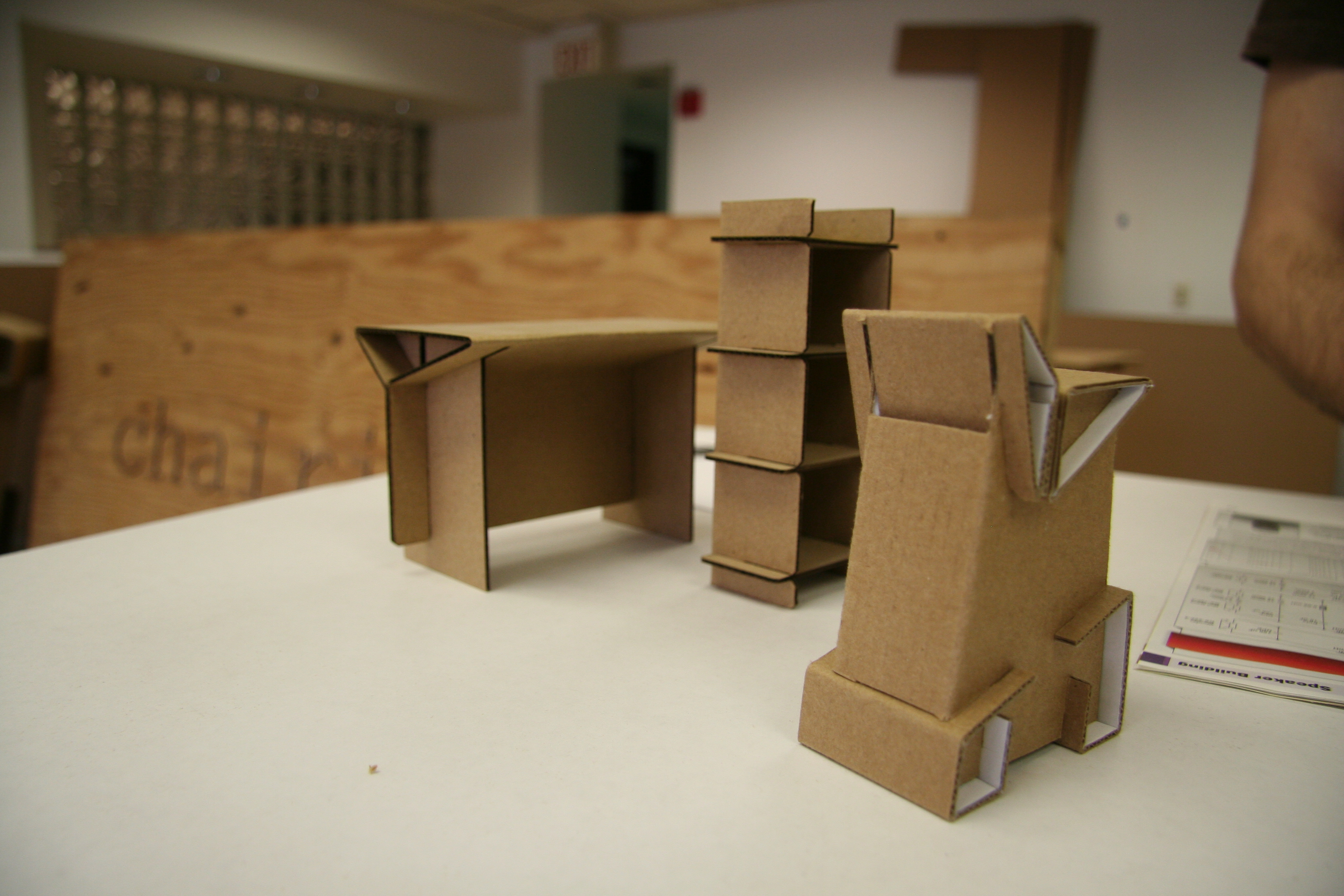 New Haven Cardboard Furniture Company Goes Beyond One Man Production Wnpr News