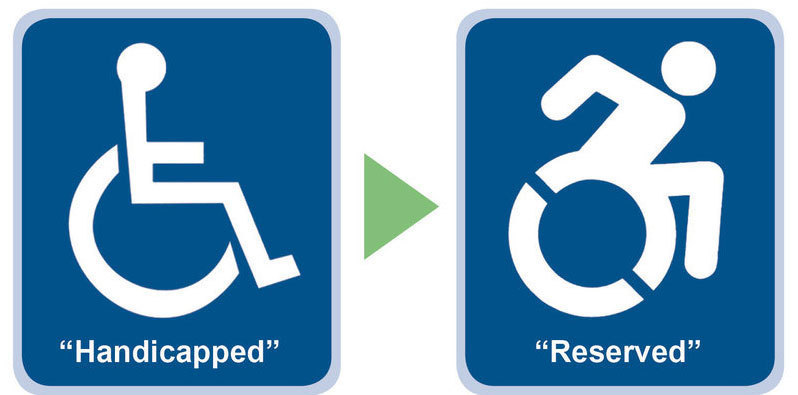 Connecticut Law Now In Effect Updates Traditional Handicapped Symbol