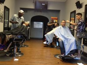 Legal Cuts, a barbershop law firm in New Britain.