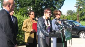 U.S. Rep. Rosa DeLauro opposes shrinking the federal food stamp program.