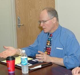Paul Vallas in 2008, when he served the New Orleans school district.