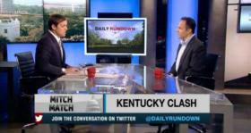 "Matt Bevin on MSNBC's ""The Daily Rundown"" with Luke Russert."