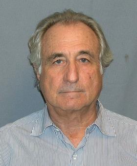 Bernard Madoff's 2009 mug shot.