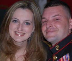 Joanna Gallup Eldridge and Justin Eldridge.