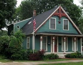 A house in Clinton.