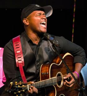 Javier Colon performs at Achieve Hartford!