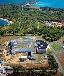 The Plum Island Animal Disease Center in 2007.
