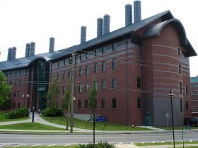 The chemistry building at UConn in Storrs.